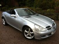 2004 MERCEDES SLK 1.8 AUTO **NEW SHAPE** CONVERTIBLE , MOT JULY , SERVICE HISTORY