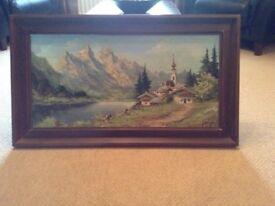 J de Groot, Oil painting on canvas.