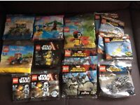 Various LEGO polybags