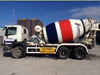 7 metre Scania Cement Truck Concrete Mixer