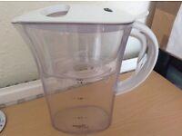 Nearly New Aqua Optima water filter jug, 1.3L