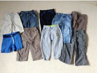 Bundle of boys trousers 12-18 & 18-24 mnths
