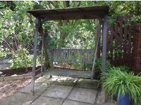 Beautiful Swinging Garden Seat
