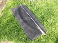 Smart car parcel shelf cover and storage net, genuine part, VGC