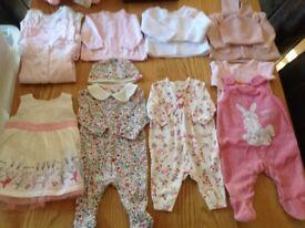 Baby clothes bundles 0-6 months