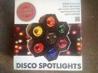 Global Gizmos Disco Spotlights