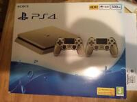 PS4 Gold nearly new offers