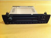 Genuine BMW Car Radio/CD - Only used for 4 weeks from new