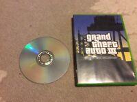 Brand new condition oringinal Xbox Grand theft auto three