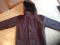 Children's Black Reggata Waterproof Coat Age 5-6
