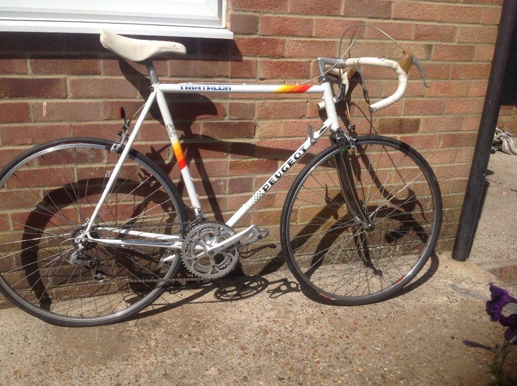 Peugeot Triathlon Reynolds 501 Racing Bike In Worthing