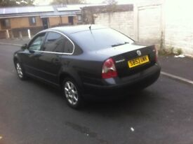 VW PASSAT 1.9 TDI S 5 SPEED MANUAL 2003 YEAR DRIVES GOOD