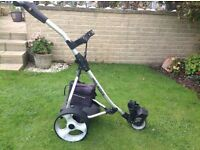 Pro Rider Electric Golf Trolley very good condition including battery and charger
