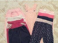 Twin girls clothing bundle 9-12 months