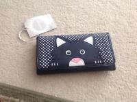 Brand new with tags BHS cat purse