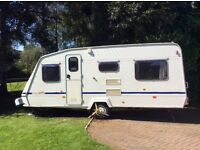 6 berth touring caravan for sale! Elddis Wisp Ovation (1996)