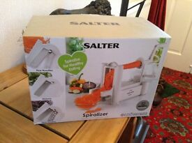 Spiralizer Unwanted xmas present Not opened. Ideal for all sorts of uses