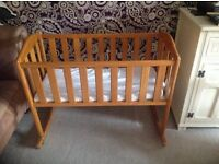 Baby Swinging Crib - Collection Only
