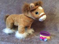 Chad valley pipsie interactive horse. Bargain price. Fun child's toy for girls or boys.