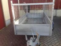 Trailer Caged sided