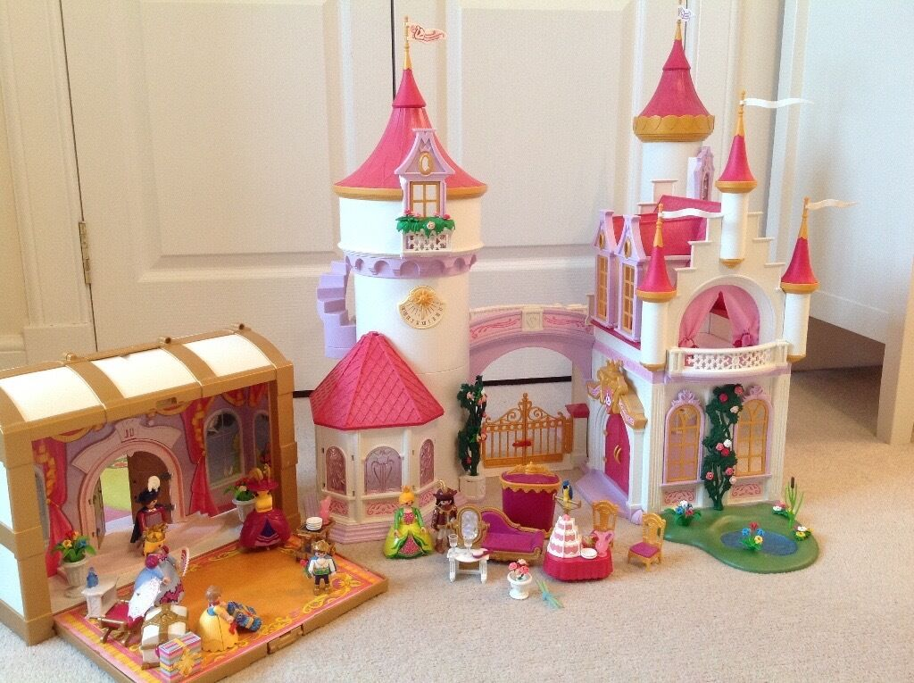 Playmobil 5142 princess fantasy castle and playmobil 4249 for Playmobil princesse 5142