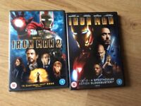 Iron man dvd's
