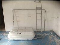 Motorhome/Camper Van Roof Box, Rack & Ladder