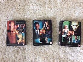 dvd box set 1,2&3 of 24