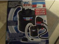 Vac King ash can attachment (New, unused) for use with Vac King vacuum cleaner.