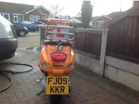 Vespa s 50 with low miles