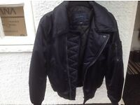 TWO ZARA JACKETS HARDLY WORN --sons wardrobe clearout