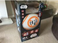 BB8 voice and remote activated droid