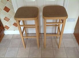 2 Excellent Condition Bar Stools