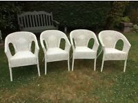 Rattan Chair set.