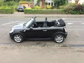 Black Convertible. New MoT and 3 new tyres. VG condition. Mini service agreement. Road taxed for 6m.