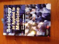 Sociology as Applied to Medicine 6e