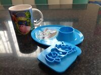 Toy Story Egg Cup Plate, Toast Press, Mug