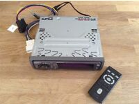 SONY Car CD Stereo CDX F7750 and remote control