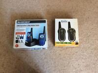 Two Way Radios with 2 Handsets - outdoor use, easy and fun to use.Up to 8km range