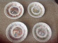 Royal doulton bramble hedge plates