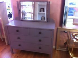 Lavender dresing table