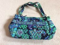 Vera Bradley handbag blue and green
