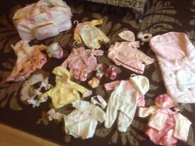 Baby Annabell Cloths, Bag and Accessories