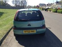 VAUXHALL CORSA CLUB 1.0 LITRE THREE DOOR HATCHBACK
