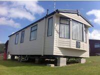 Modern 6 berth caravan to rent in Newquay, Cornwall