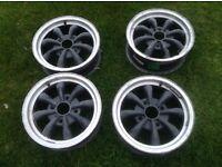 8 spoke alloy wheels