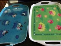 2 handled new kitchen trays