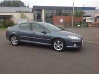 "2006/06 Peugeot 407 2.0 HDI (Diesel) Grey ""FULL YEARS MOT"""