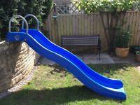 children wavy slide