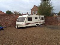 chesp twin axle caravan 6 berth ideal camper van bits